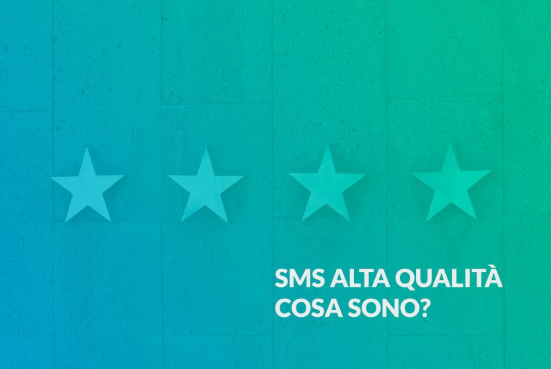 SMS alta qualità